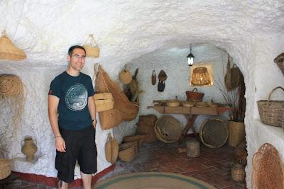 Sacromonte caves in Granada