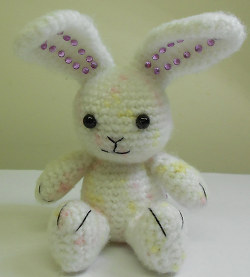 Big-Ears Bunny Crochet Pattern | Very Berry Handmade