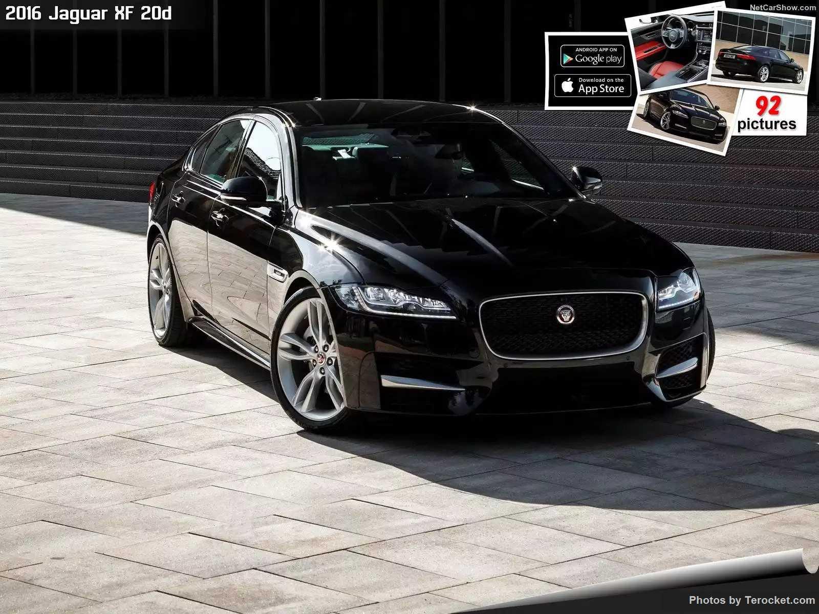 Hình ảnh xe ô tô Jaguar XF 20d 2016 & nội ngoại thất