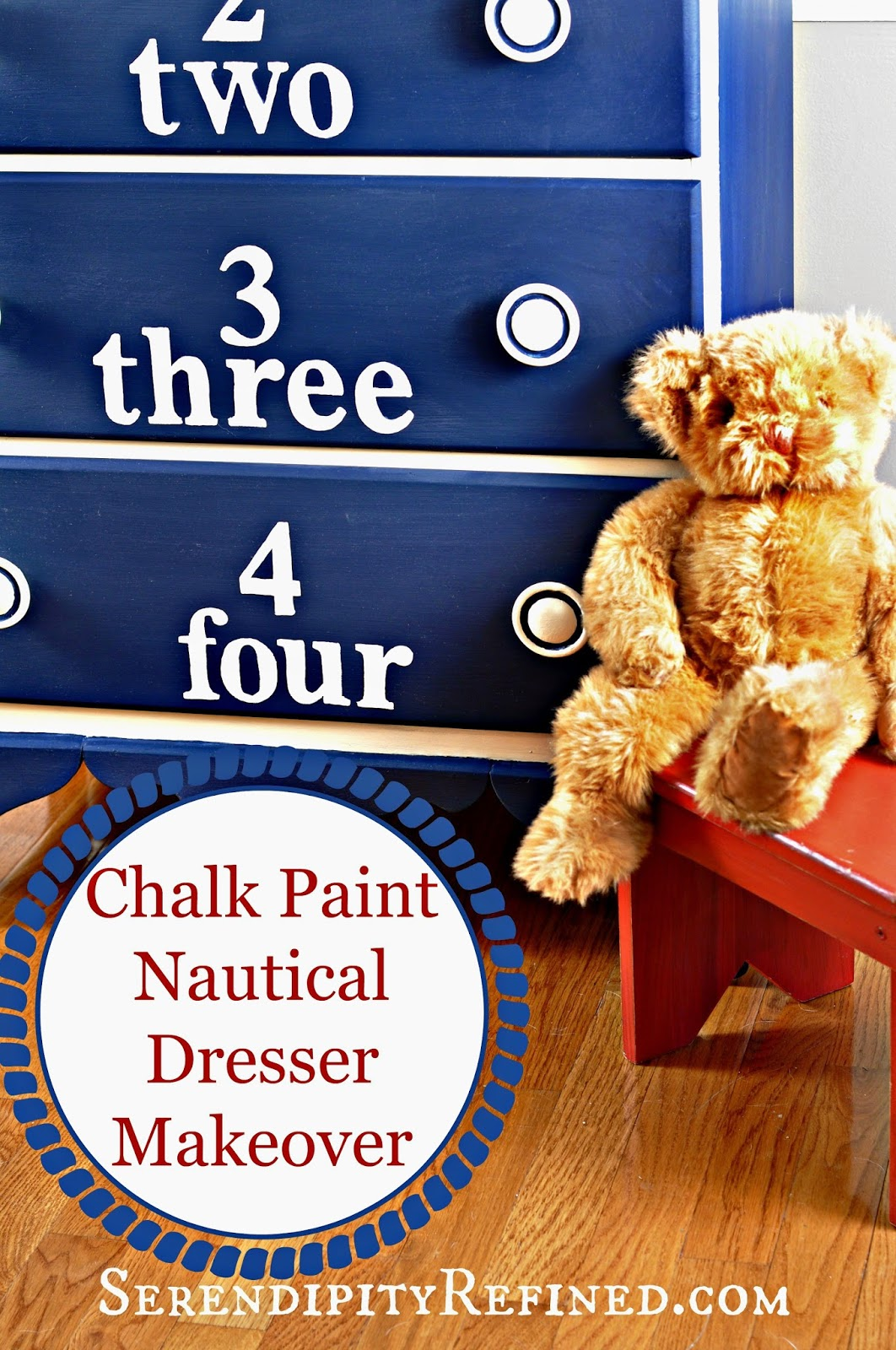 serendipity refined blog chalk painted child dresser painted