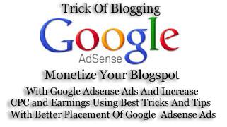 Best | Easy Tricks To Monetize Your Blogger Blog With Google Ads Increase CPC | CTR  And Earning