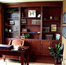 Small Home Office Library Design Ideas