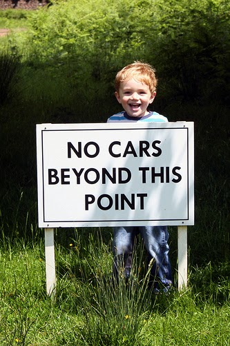 No Cars Beyond This Point