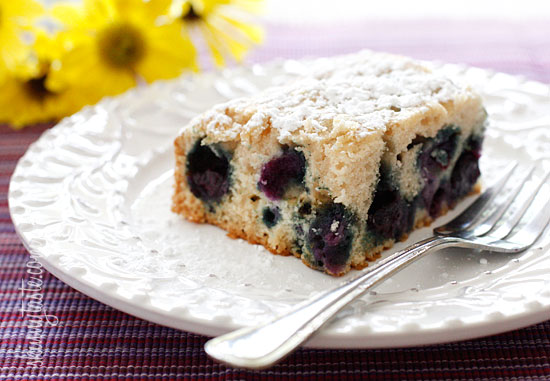 Easy Blueberry Buttermilk Cake Recipe — Dishmaps
