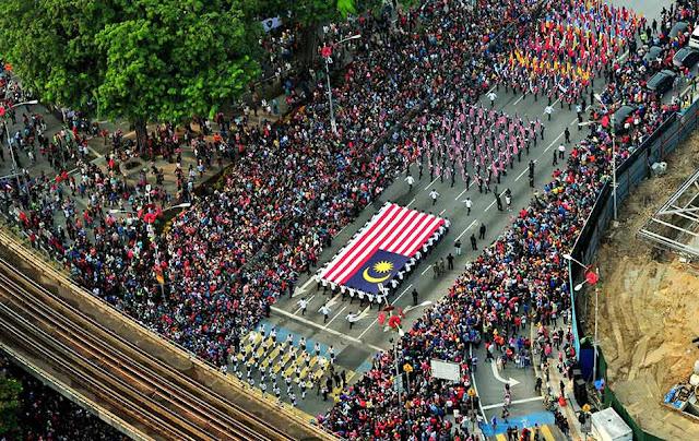 gambar sambutan hari kebangsaan 2015