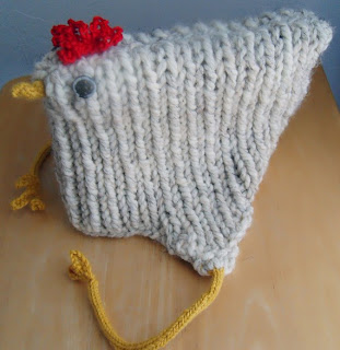 Hard Boiled Megg's Adult Chicken Hat with Legs
