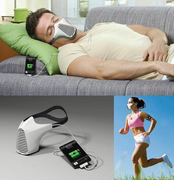 Apple air Mask charger photo