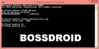 Cara Install Ulang (Flashing) pada Asus Zenfone 5 Bootloop