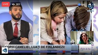 A7 TV: Copiii Cameliei Smicală, luați de finlandezi!