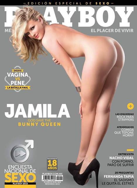 Jamila Wardknott Revista Playboy México Septiembre 2015 [FOTOS – PDF] 1