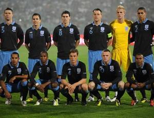 Seleção da Inglaterra está no Grupo D da Euro Copa 2012