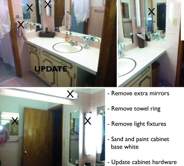 heels design challenge chrissy 39 s pink blue tile bathroom dilemma