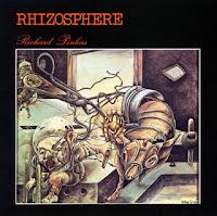 Portada de Christine Gaussot para Rhizosphère, el primer álbum publicado por Richard Pinhas en solitario