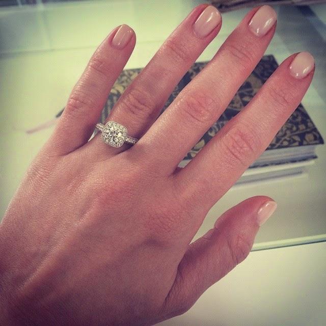 Fresh Mani and New Rings | Anna Saccone Joly