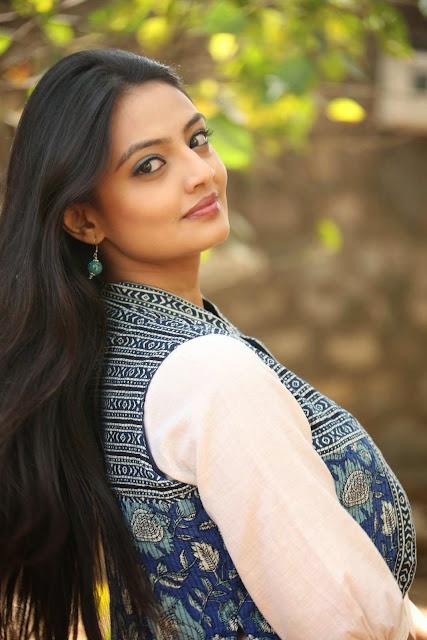 Actress Nikitha Narayan Latest Pictures at Ladies and Gentlemen Platinum Disc Function 13.JPG