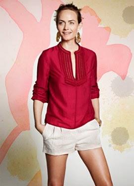 H&M Conscious primavera verano 2014 short camisa