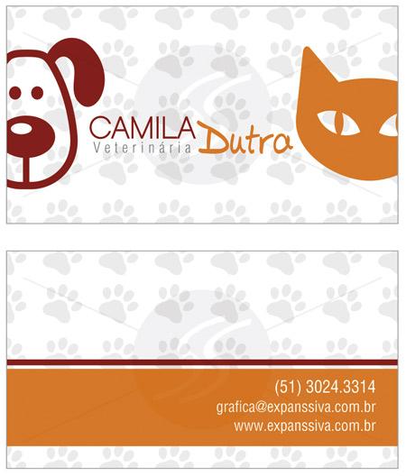 cartoes de visita veterinarios cachorro - 15 lindos Cartões de Visita de Veterinários