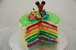 rainbow 3D figurine