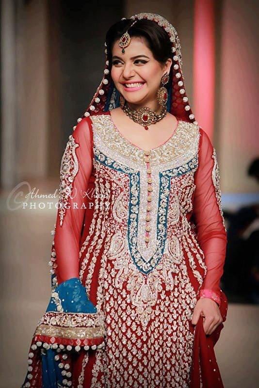 Pakistan Celebrities Pantene Bridal Couture Week 2013 Album 7