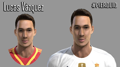 PES 2013 Lucas Vazquez Face by PieroU10