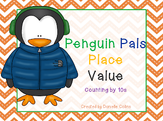 http://www.teacherspayteachers.com/Product/Penguin-Pals-10s-facts-place-value-Freebie-977448