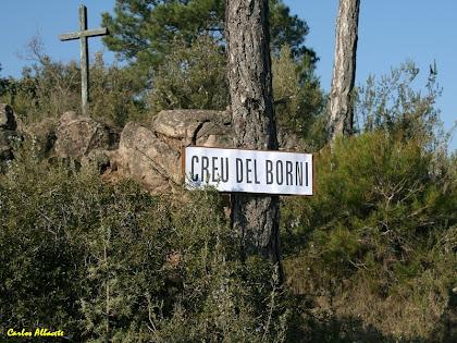 La Creu del Borni al Serrat de les Sis Quarteres. Autor: Carlos Albacete