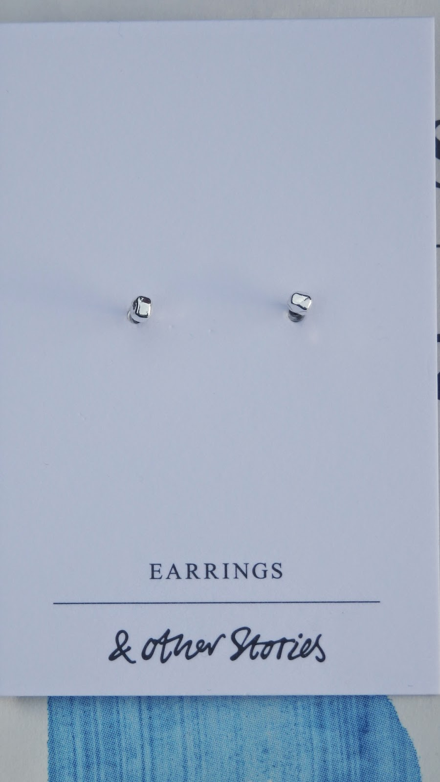 & Other Stories little silver coloured earrings