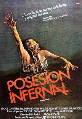 Cartel original Posesión Infernal - Evil Dead