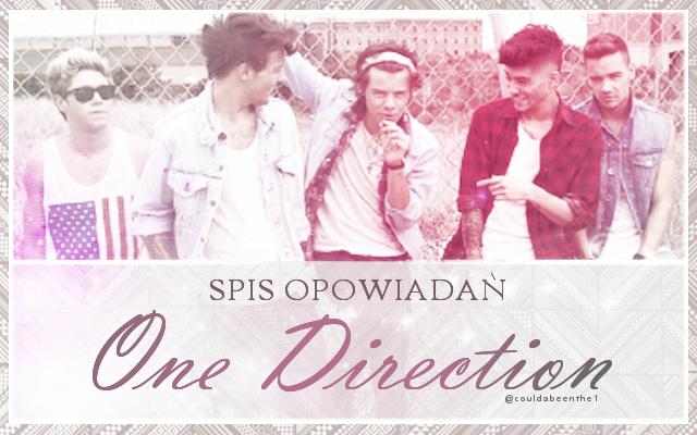 Spis opowiadań o One Direction