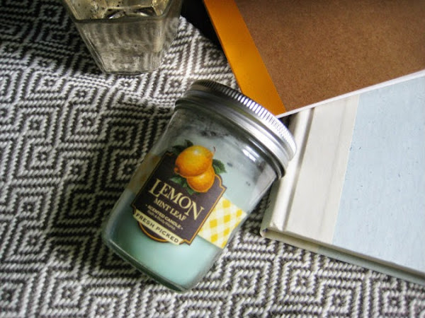 New Love | Bath & Body Works Lemon Mint Leaf Candle