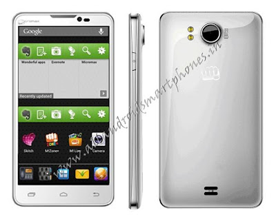 Micromax Canvas Doodle A111 White Dual Sim Photo & Image Review