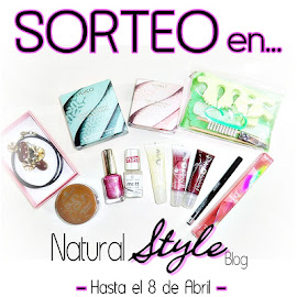 SORTEO EN NATURAL STYLE BLOG