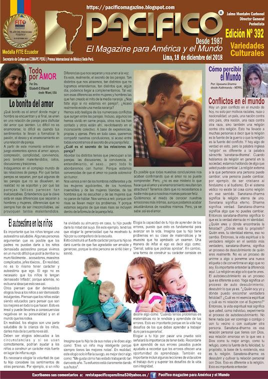 Revista Pacifico N° 392 Variedades Culturales