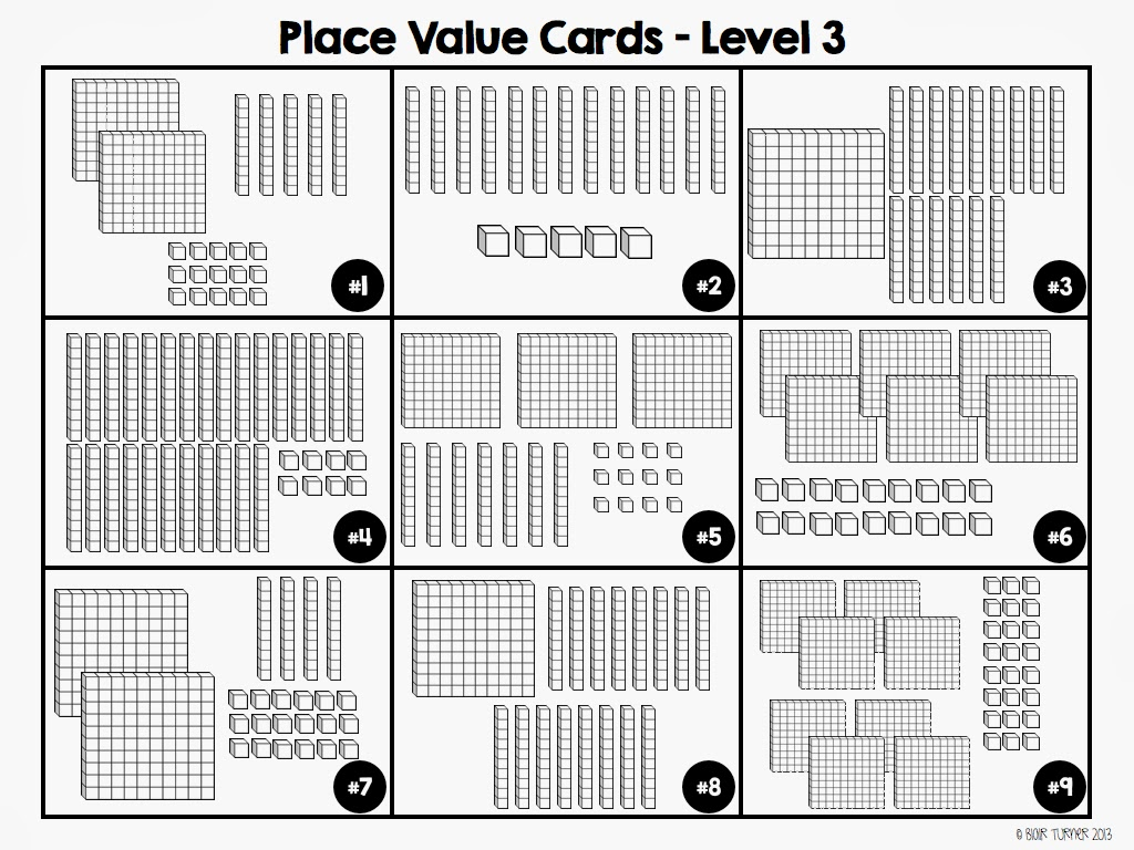 Addition With Base Ten Blocks Worksheets Place Value