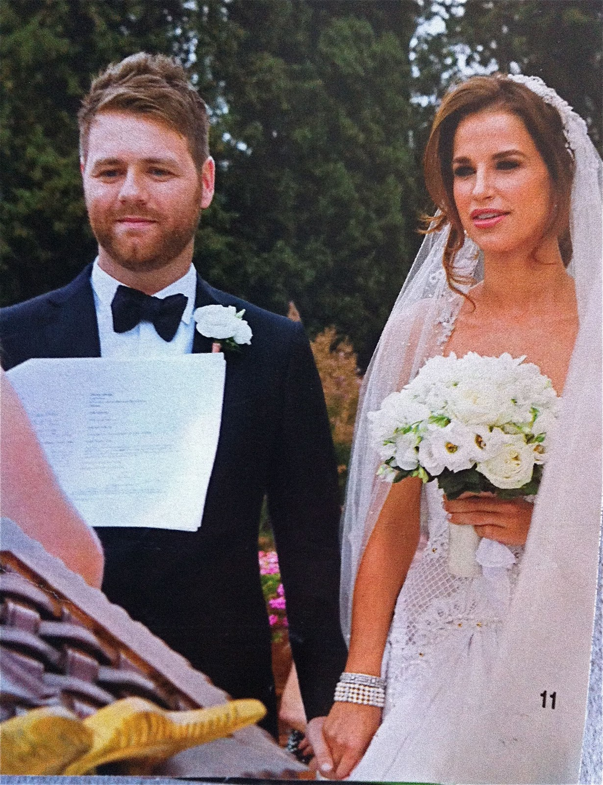 Chasing Rainbows Kissing Frogs Brian Mcfadden Weds Vogue