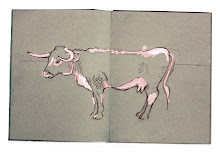 Sketchbook cow