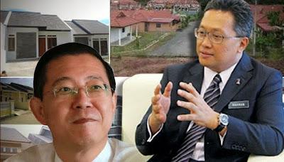 Rahman Dahlan Pembohong Besar Pesong Fakta Projek Rumah Di Pulau Pinang