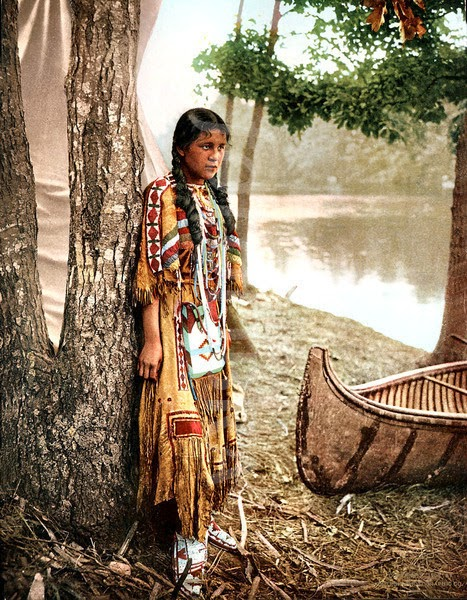 Unique Native American Indian Girls  Native American Traditional Clothing