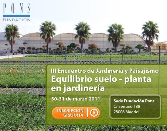 iii encuentro de jardinera y paisajismo