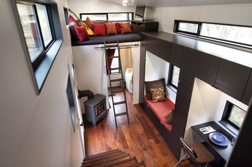 Desain Rumah Kayu Kecil Ini T&ak Mewah dengan 2 Lantai 2 ... & Desain Rumah Kayu Kecil Ini Tampak Mewah dengan 2 Lantai - Rumah Idaman