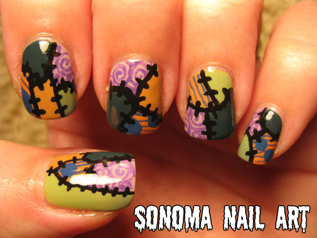 Sonoma Nail Art 31 Day Nail Art Challenge Inspired By A Pattern