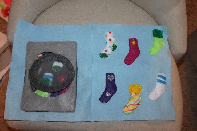 activity book for kids, sock matching page