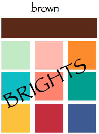 A color specialist in charlotte natural colors for earth day - Colors that go with brown ...