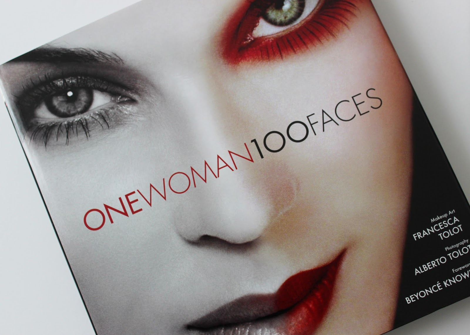 one woman, 100 faces makeup book