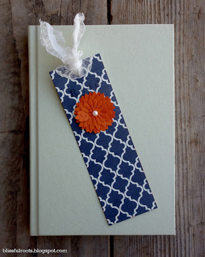 DIY Bookmarks @ Blissful Roots