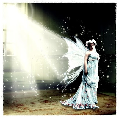 Fairy at the Window Digital Art