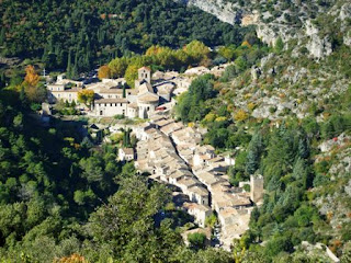 Herault River, Languedoc, France, Saint Guilham le Desert