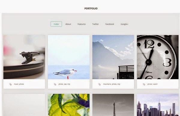 Portfolio Free Portfolio WordPress Theme