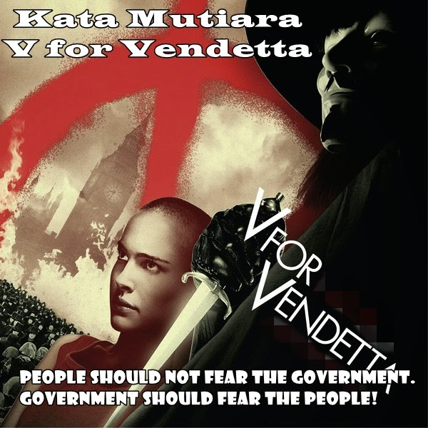 Kumpulan Kata Mutiara dari Film V for Vendetta
