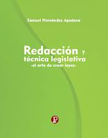 Redacción y Técnica Legislativa -el arte de crear leyes-